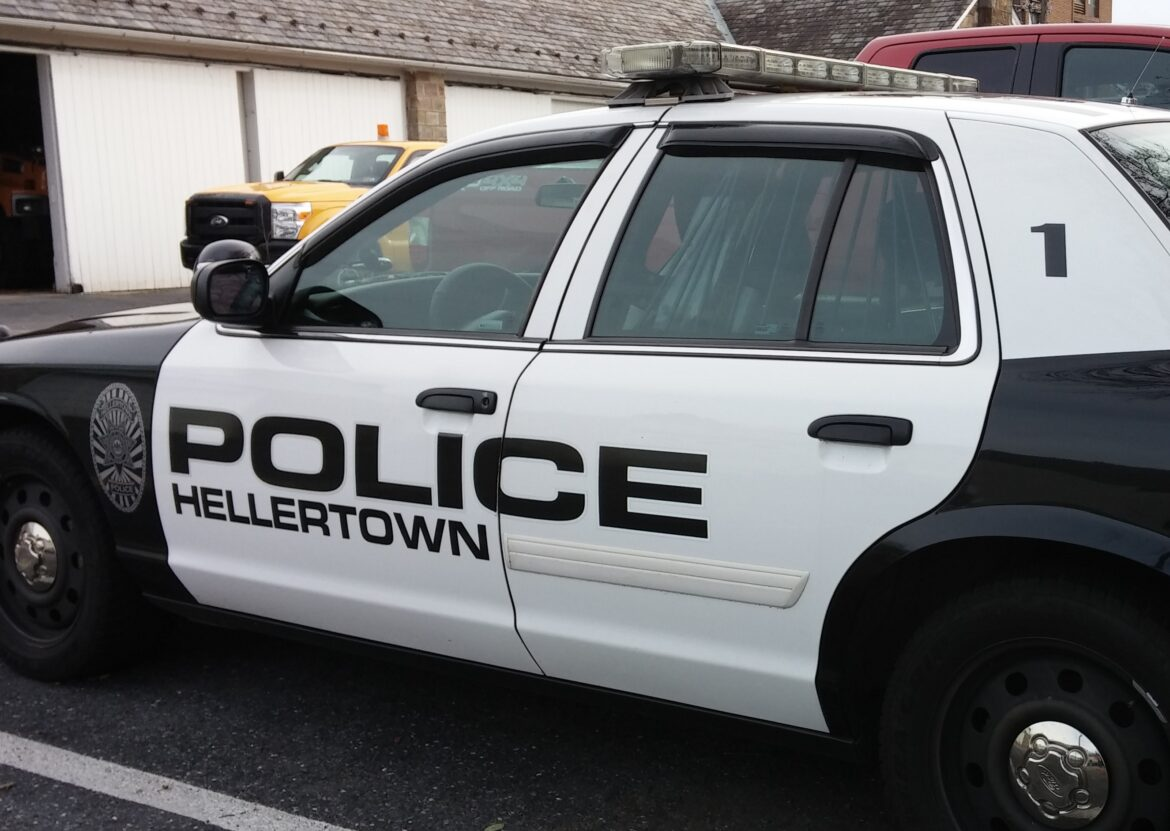 Hellertown Police Car Assault