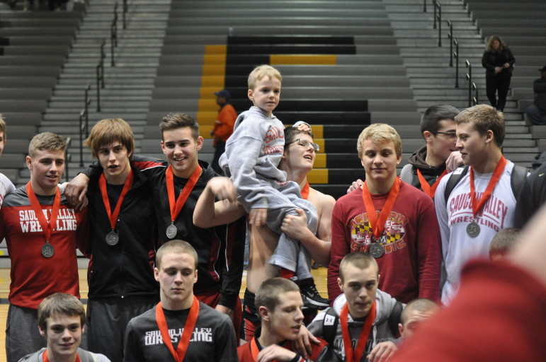 Saucon Valley lost to wrestling powerhouse Reynolds Thursday, but the Panthers are still alive in the PIAA state tournament.