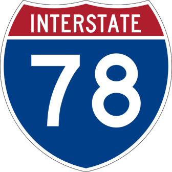 I78 I-78 Interstate 78 delays