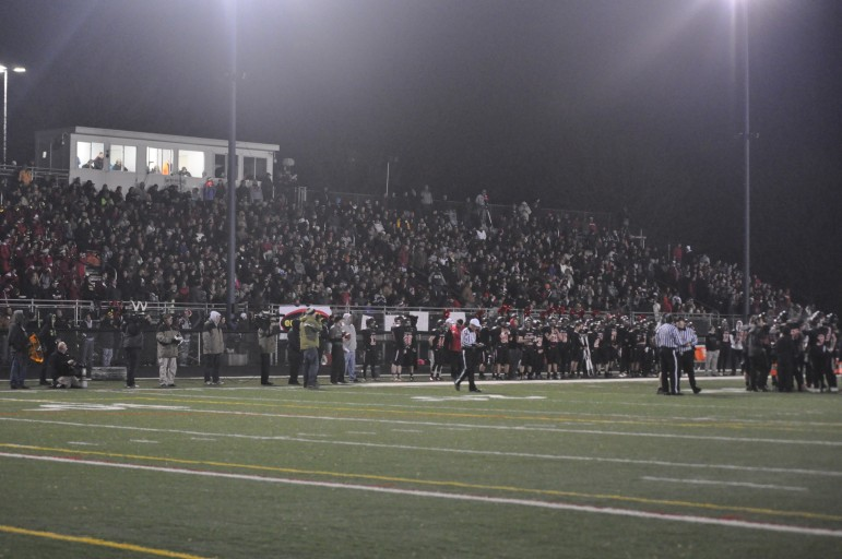 The Saucon Valley faithful brought a whole lot of energy and enthusiasm Friday night in the PIAA quarterfinals