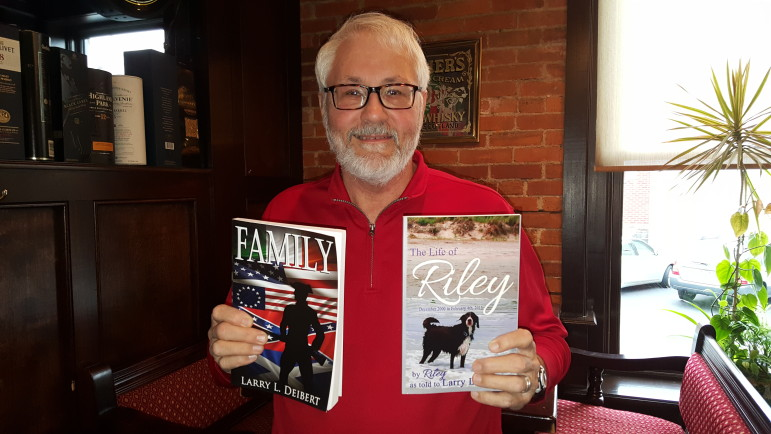 Lower Saucon author Larry Deibert recently published two new books: The Life of Riley and Family.