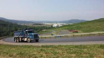 A view of IESI Bethlehem Landfill in Lower Saucon Township (FILE PHOTO)