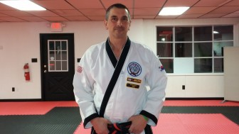 Saucon Valley Karate owner and chief instructor Phil Geiter