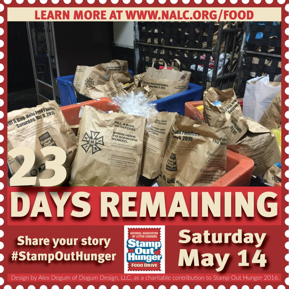 USPS 'Stamp Out Hunger' Food Drive Set for Saturday, May 14 | Saucon Source
