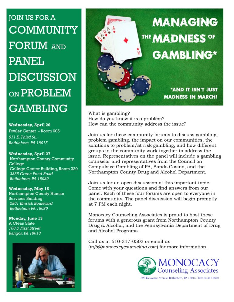 Gambling addiction forums uk