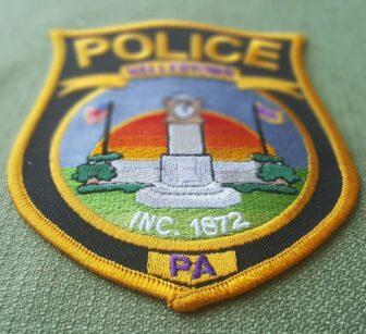 Hellertown Police Vehicle