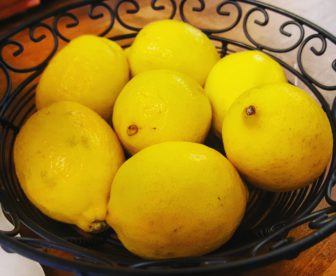 The decor at Limon prominently features the restaurant's namesake and an ingredient in many of the foods on the menu: the lemon.