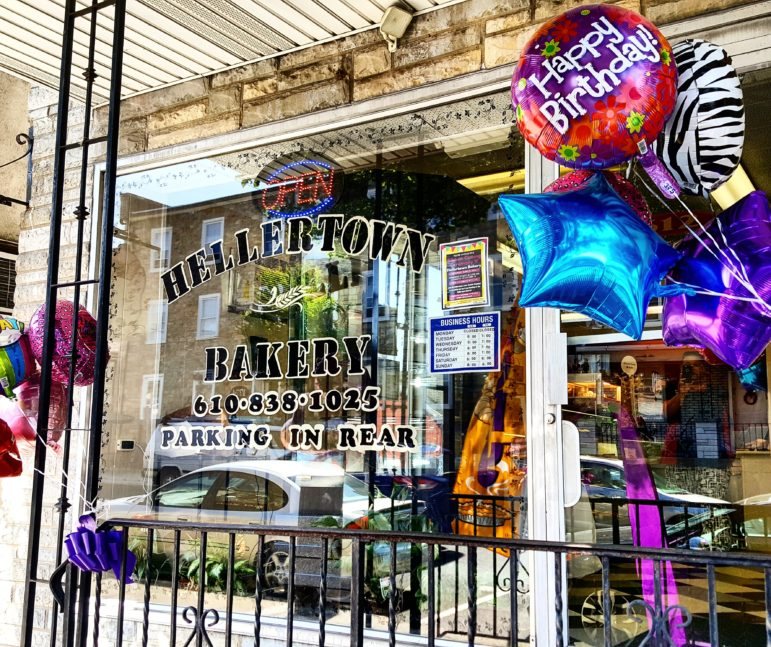 Balloons welcomed guests to the Hellertown Bakery's ribbon-cutting ceremony Saturday.
