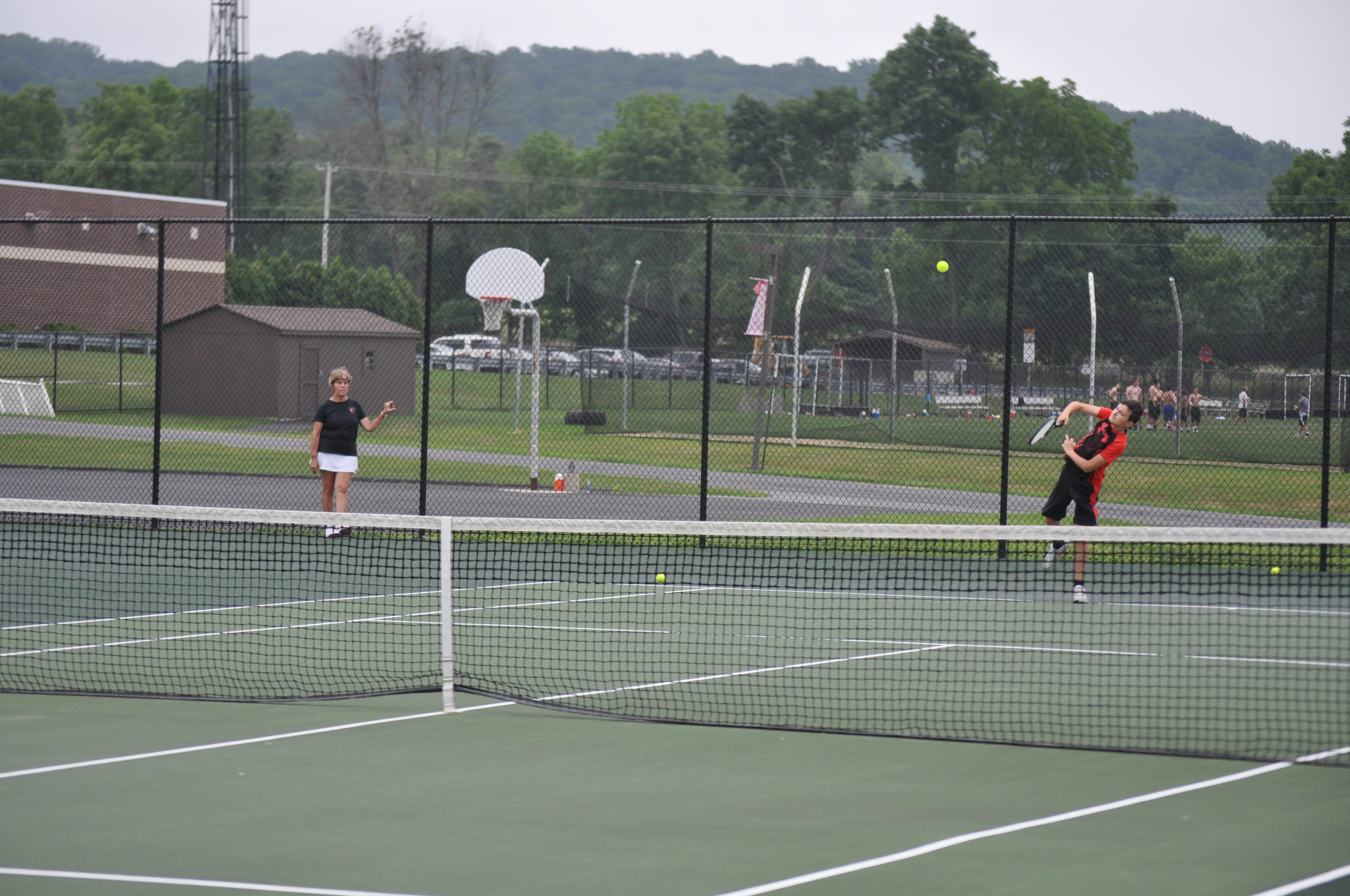 For the past eight years the SV tennis program has been under the watchful eye of Coach Joann Ochse