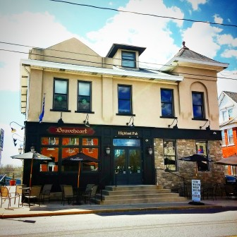 Braveheart Highland Pub is located at 430 Main St., Hellertown, in the heart of the borough's downtown.