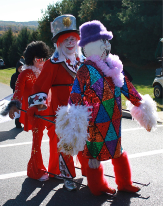 Pitstop the Clown will again appear in the Saucon Valley Spirit Parade.
