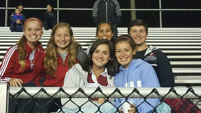 Panther boys soccer fans