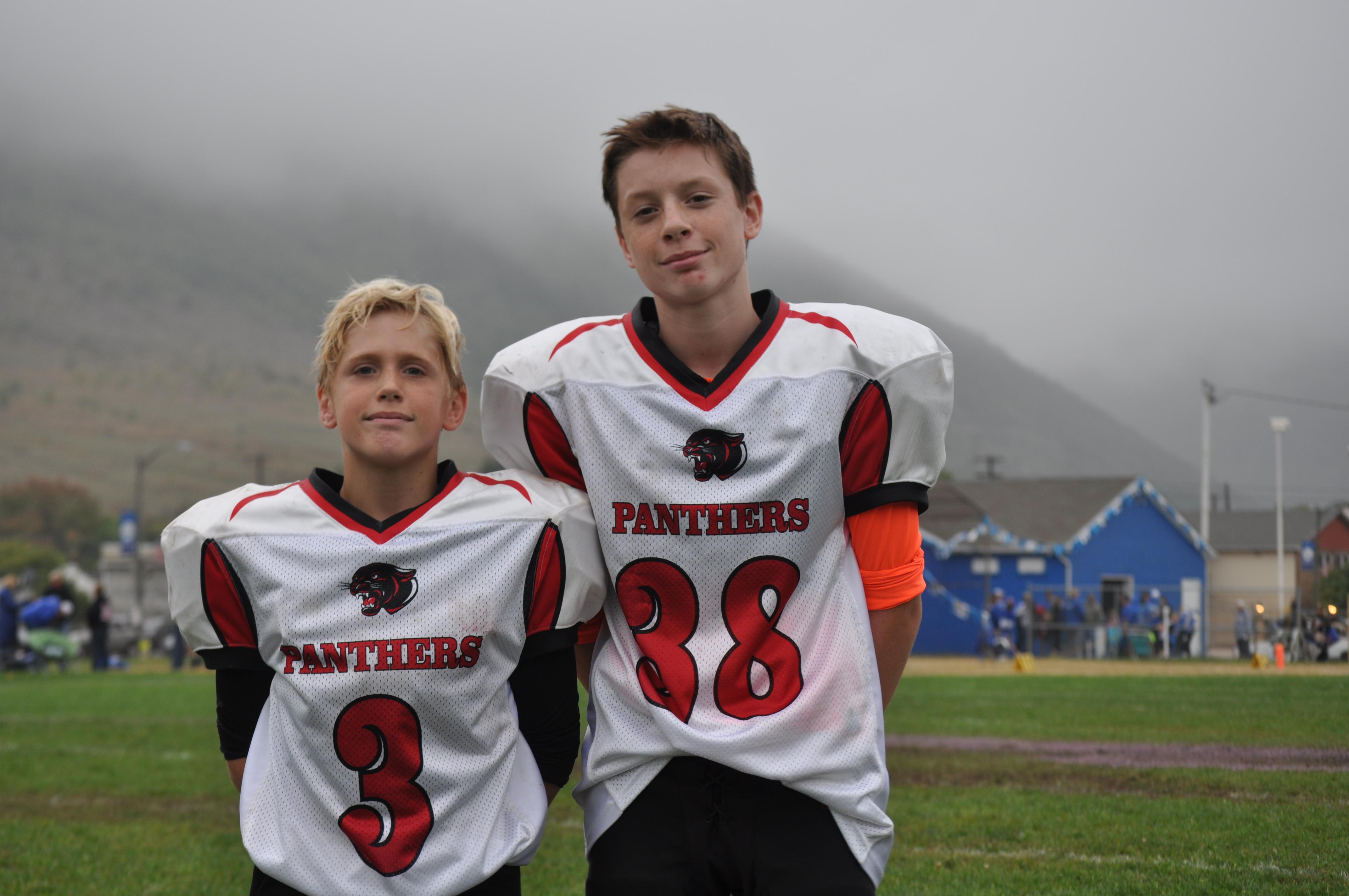 Brent Malick and Ryan Lebo