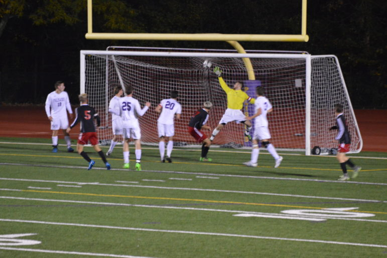Ryan Smith's goal against Palisades