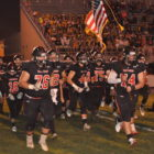 The Panthers take the field .