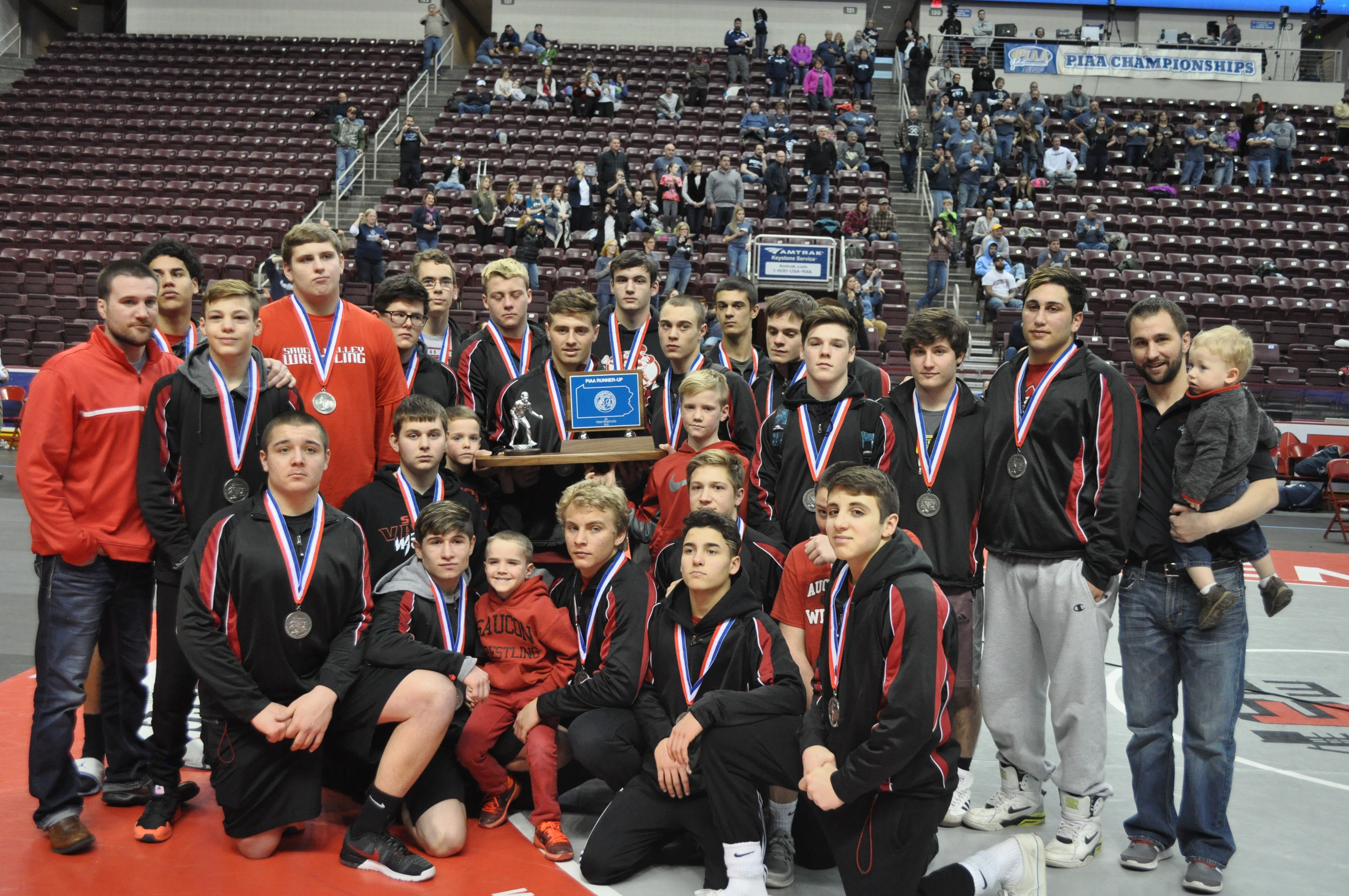 After a fantastic journey the Panthers were the 2016 PIAA State Championship Runner-ups