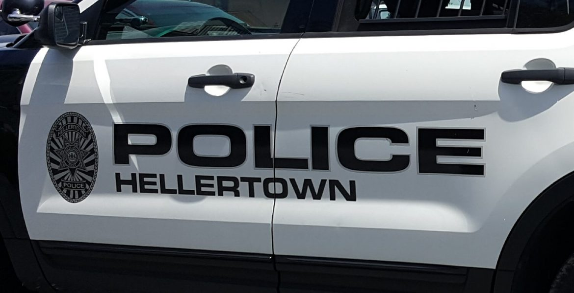 Police Car Hellertown Firearm