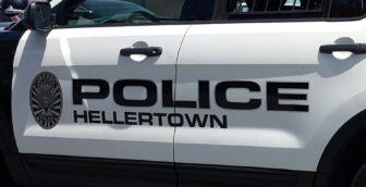 Police Car Hellertown Firearm