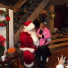 2013 Santa and Shopping at the Mill