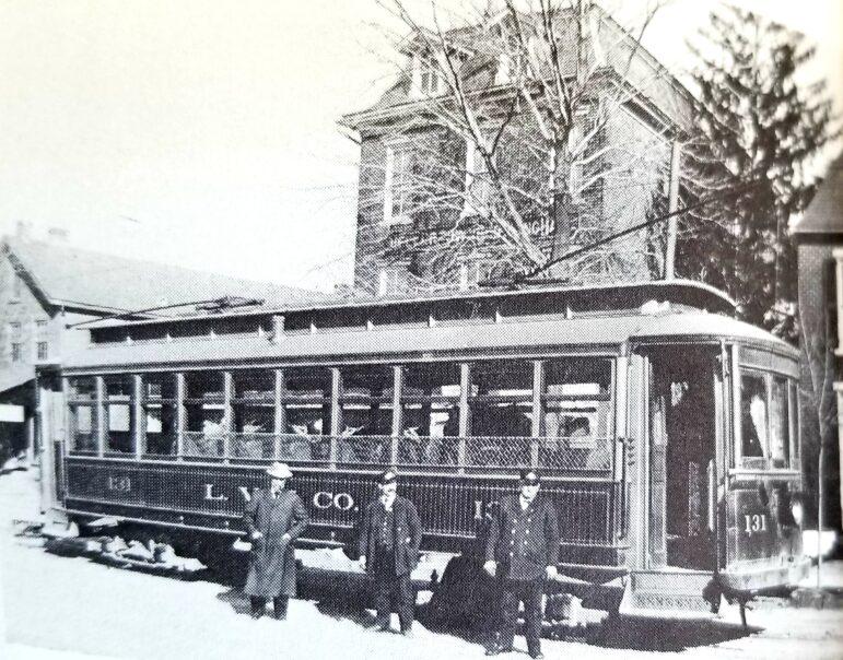Trolley Streetcar Hellertown Bethlehem