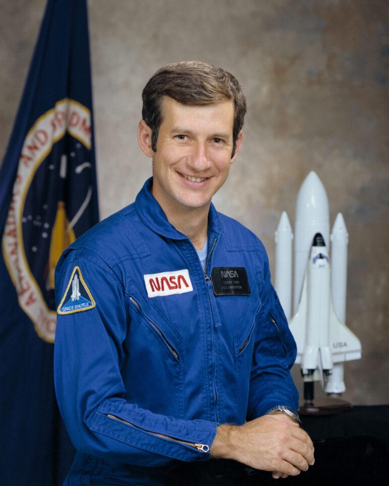 Terry Hart astronaut