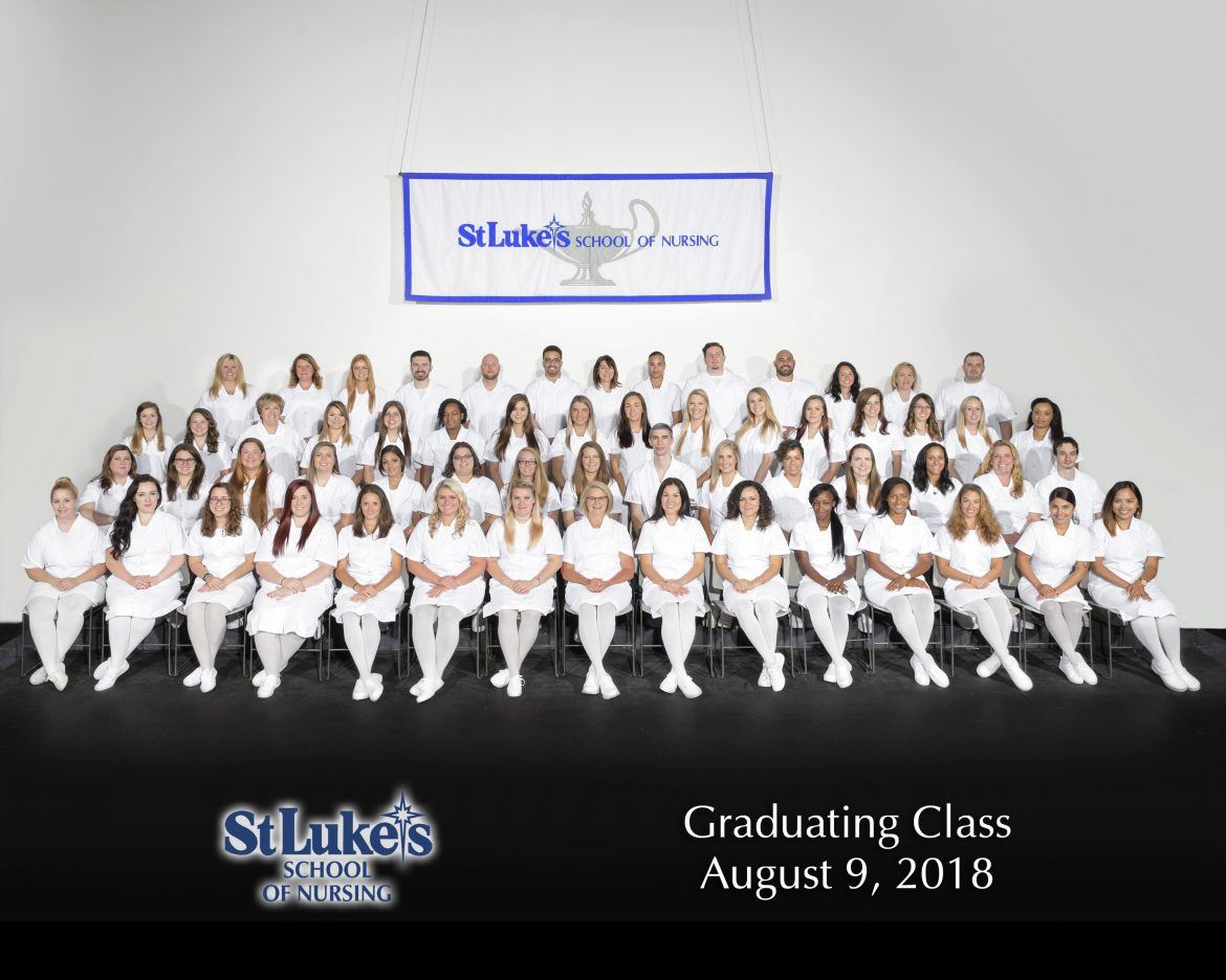 St. Luke's School of Nursing Graduation