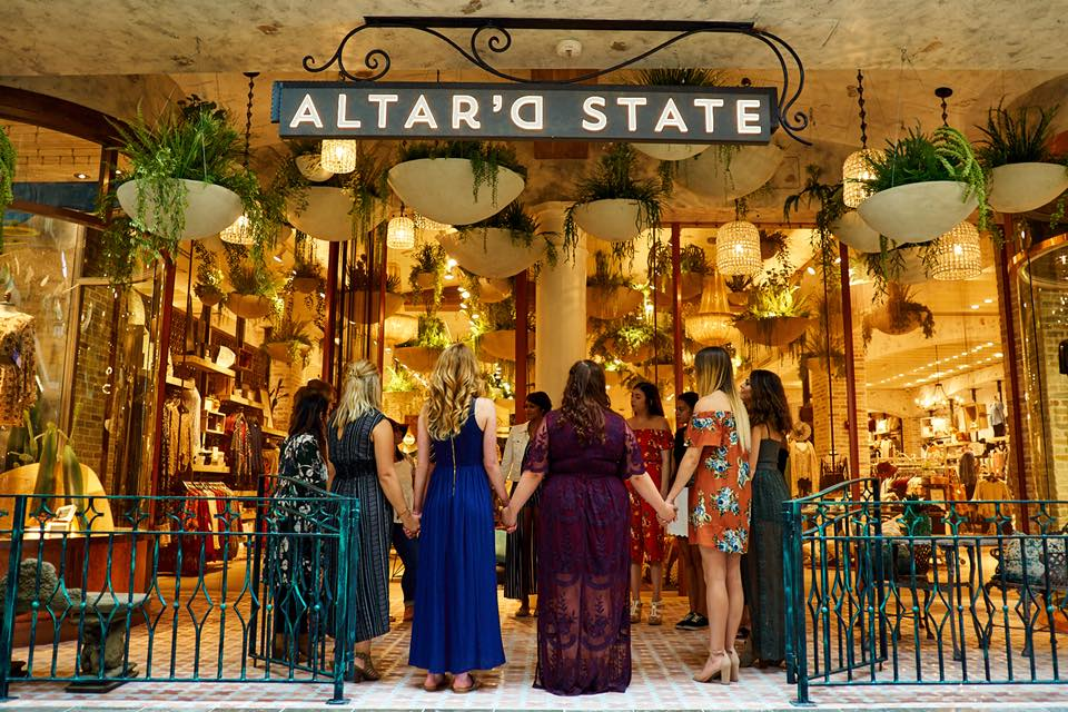 Altar'd State store