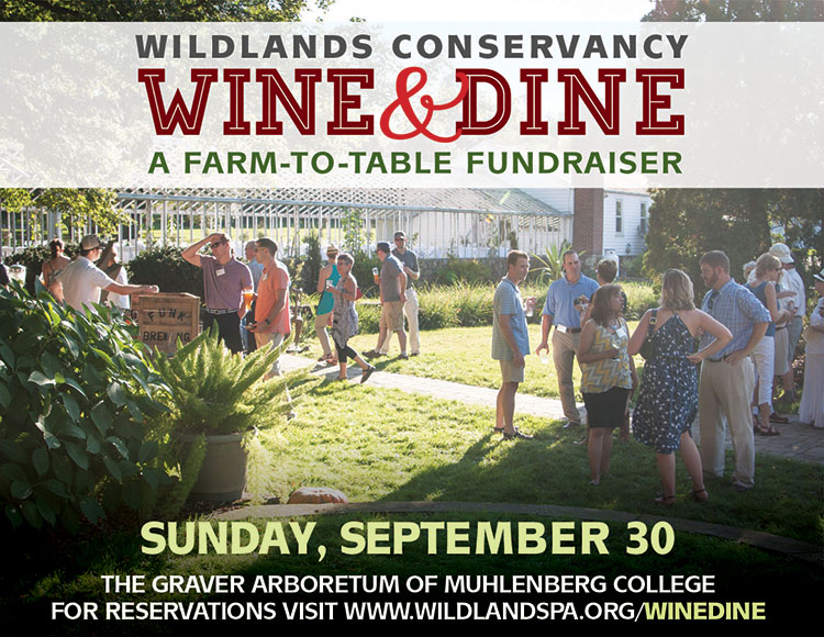 Wine and dine fundraiser Wildlands Conservancy