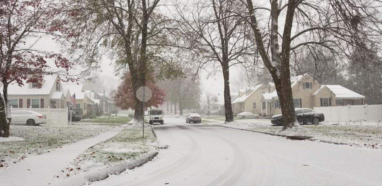 Snow Hellertown Borough