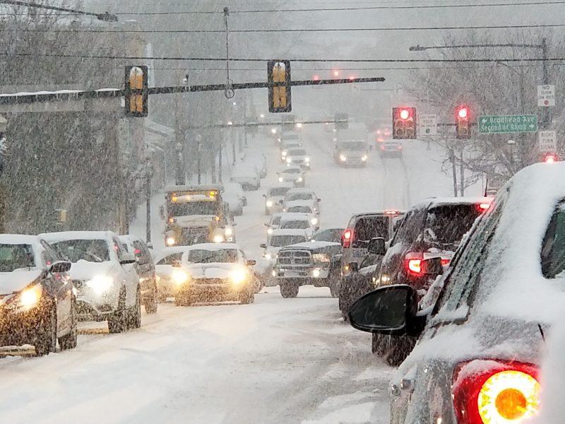 driving winter