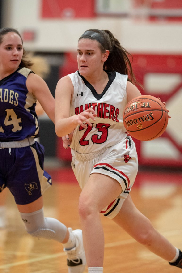 Saucon Valley Girls Basketball Ally Frace