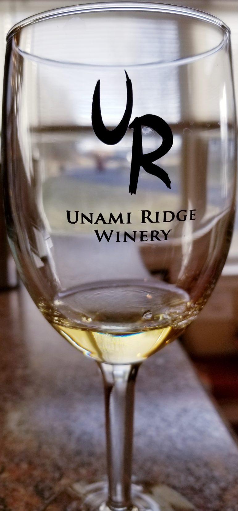 Unami Ridge wine
