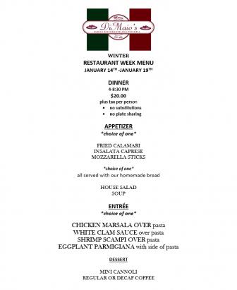 DiMaios RW menu