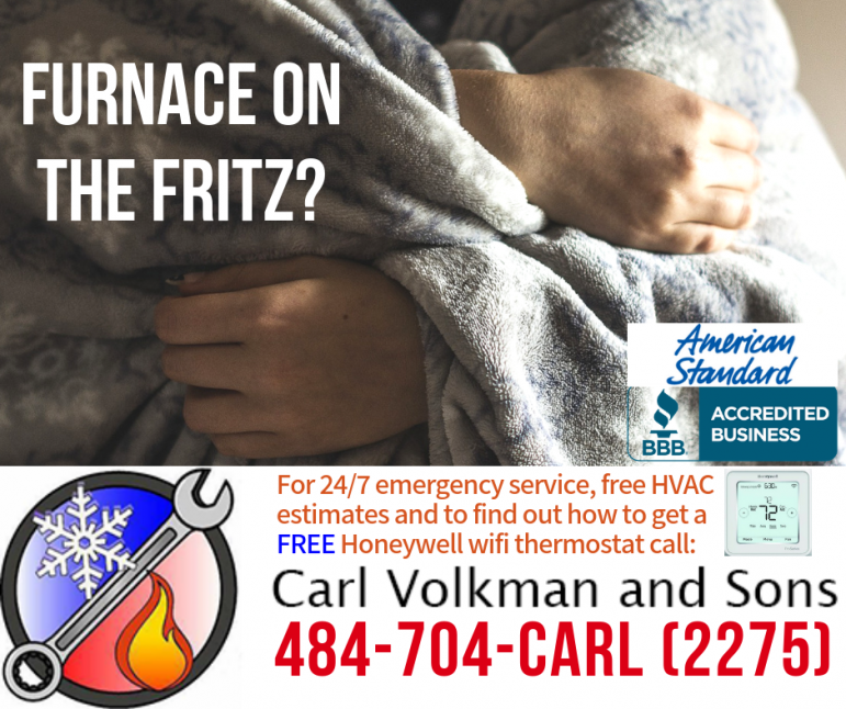 Furnace on the fritz photo contest
