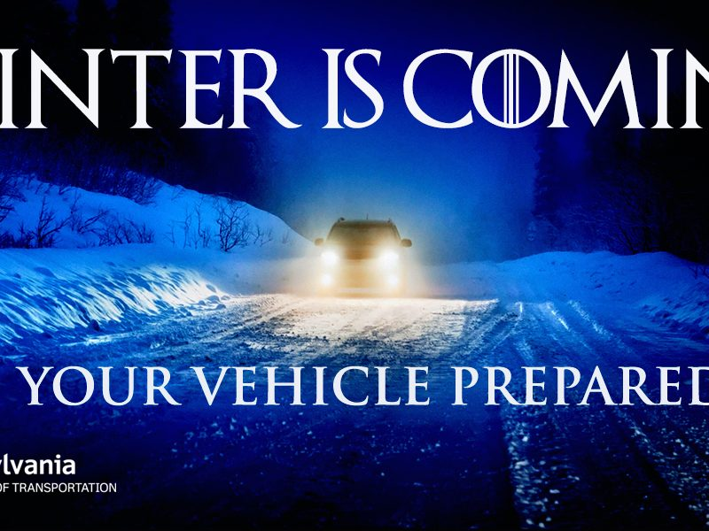 Winter Is Coming PA Emergency