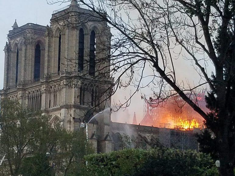 Cathedral Notre Dame Fire Paris