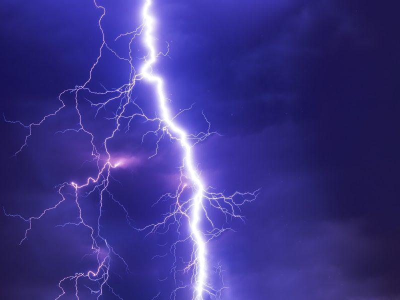 severe weather lightning