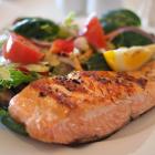 salmon food restaurant