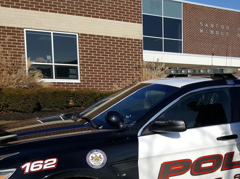 School Cop Car Security