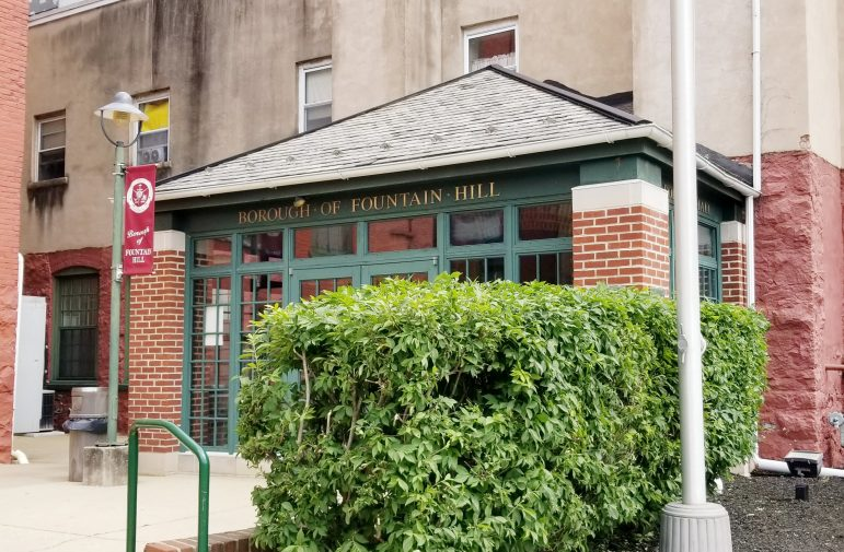 Fountain Hill Stormwater Police