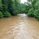 Flood Saucon Creek