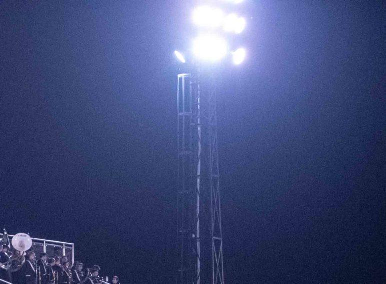 Stadium Lights COVID-19 Tribute