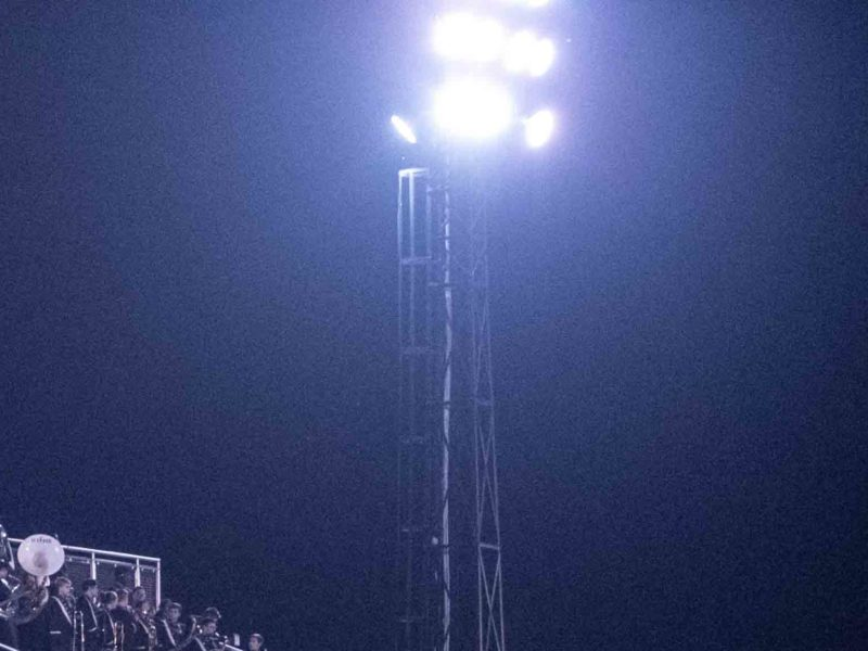 Stadium Lights COVID-19 Tribute