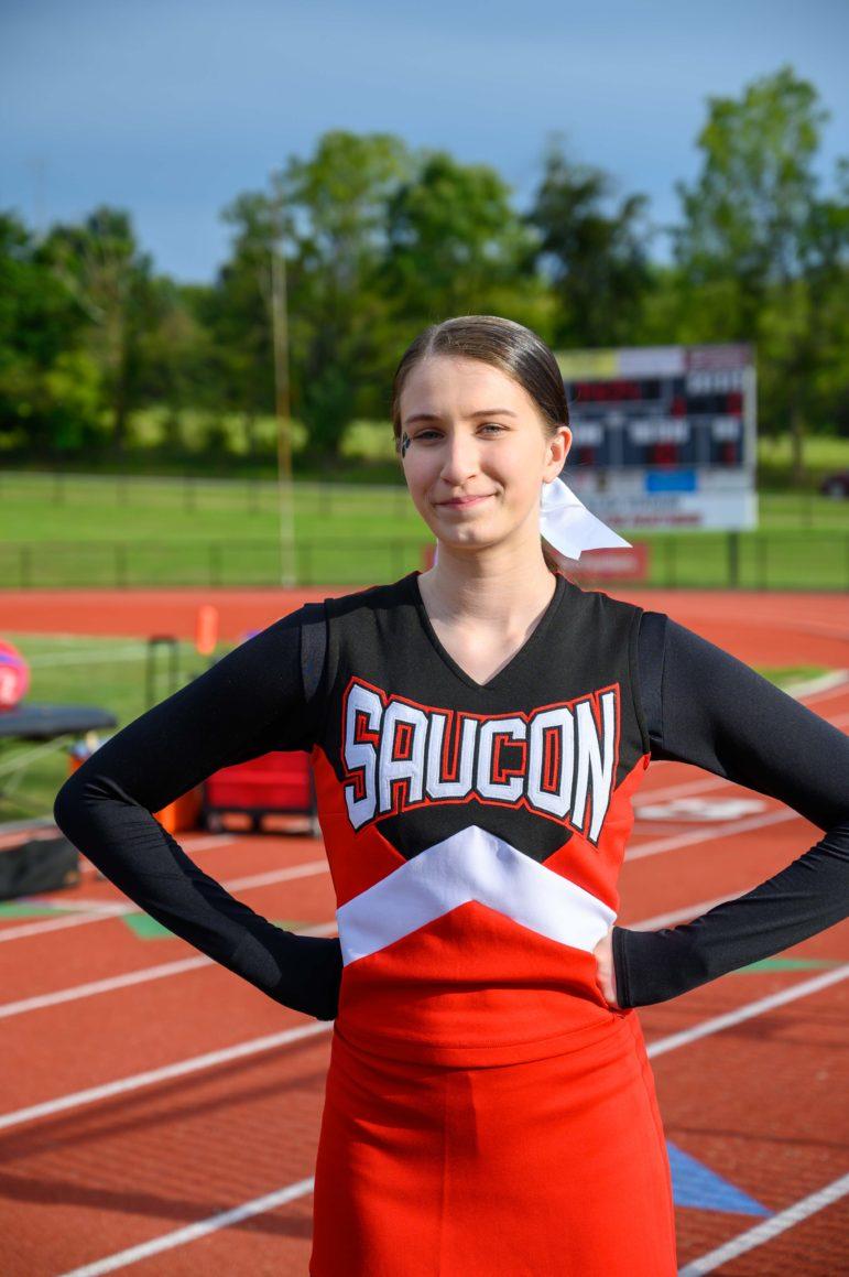 Olivia Kacerik Cheerleader