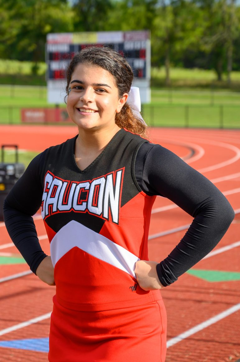 Virginia Kouros Cheerleader
