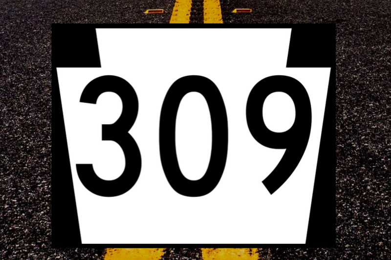 Rt. 309 Road Work