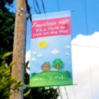 Fountain Hill banner