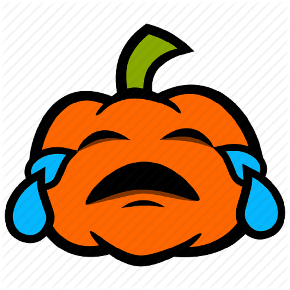 Halloween-Pumpkin Upset Rain Trick or Treat