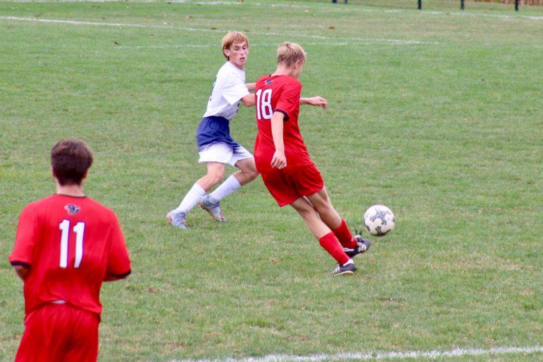Matt senior goal soccer