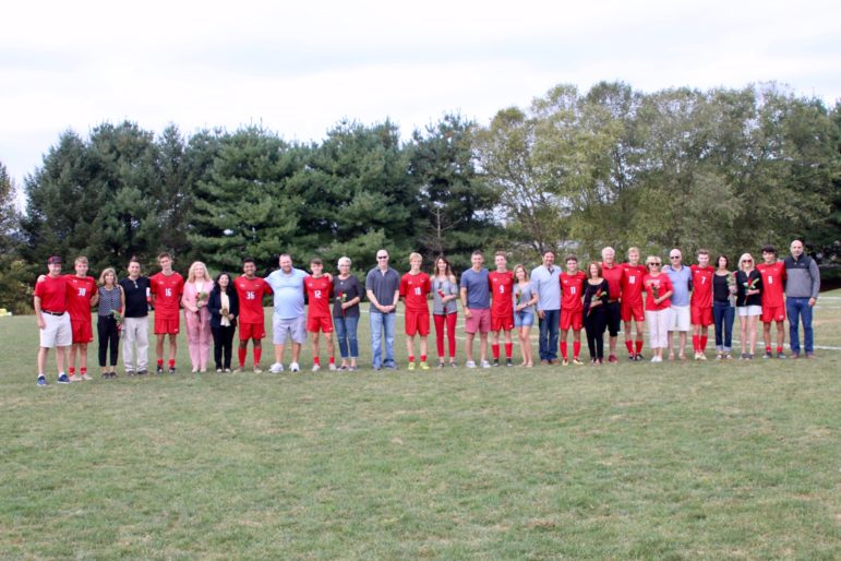 seniors and parents soccer